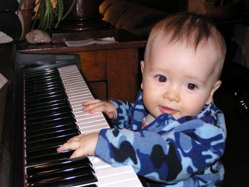 Simon at the Piano